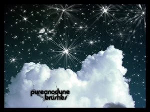 Starry Night Brush Set by *anodyne-stock