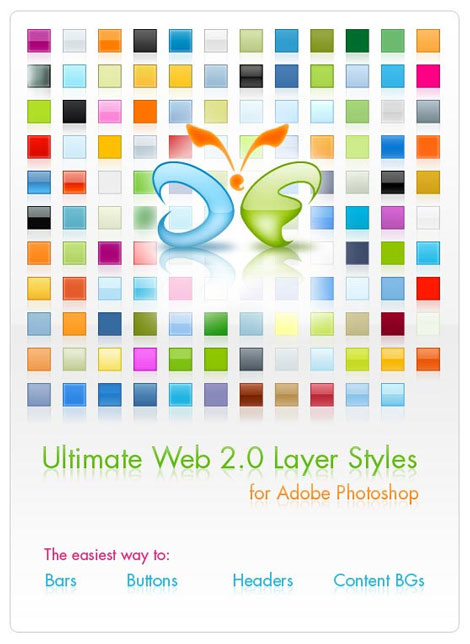 Web 2.0 Layer Styles