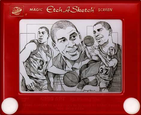 Etch-A-Sketch Art 4