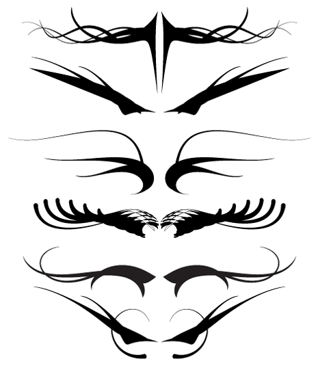 Tribal Vectors by BittBox