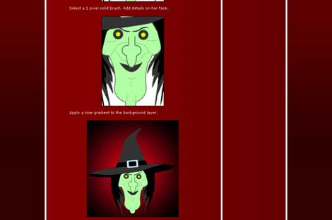 Cartoon Witch Photoshop