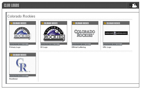 Colorado Rockies Vector Logos