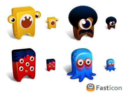 Fasticon Creatures
