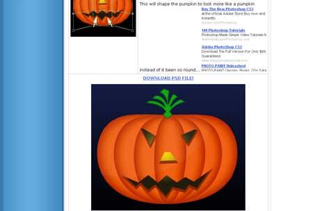 Pumpkin PSD