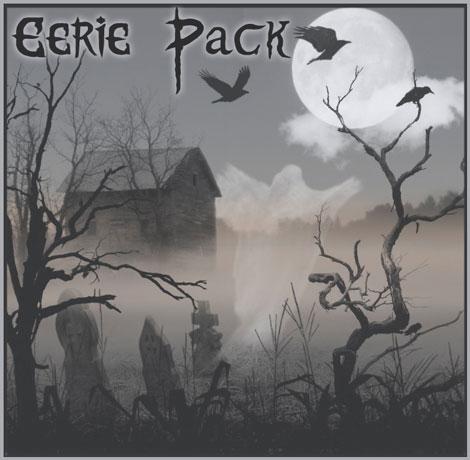 wyckedbrush eerie pack halloween brushes