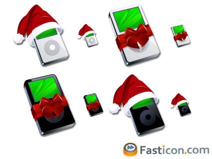iPod Christmas Icons