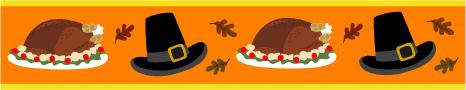 Microsoft Office Thanksgiving Turkey Pilgrim Vector Clipart