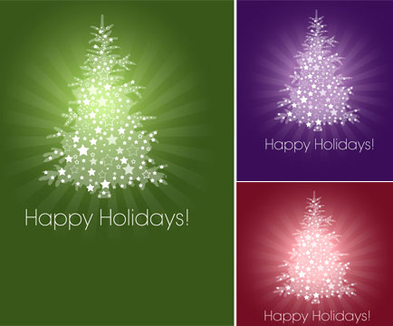 Vector Christmas Tree