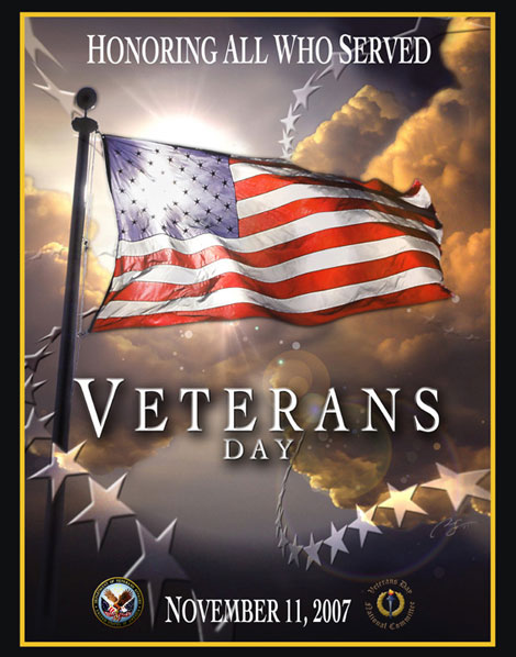 Veterans Day Poster 2007