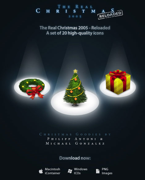 The Real Christmas 2005 Icons