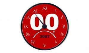 2007 Countdown Clock
