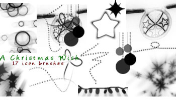 Christmas Wish Brushes