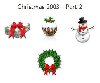 Christmas 2003 Icons