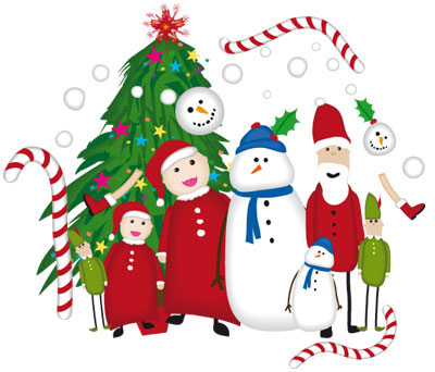Christmas Free Illustrator Brushes