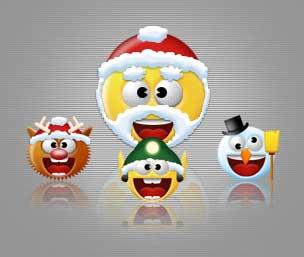 Christmas Smilies