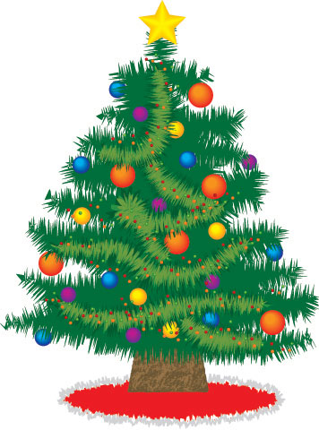 Oh, Christmas Tree Vector