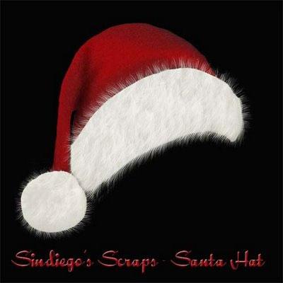 PNG Santa Hat