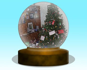 Free Photoshop Action - Snowglobe