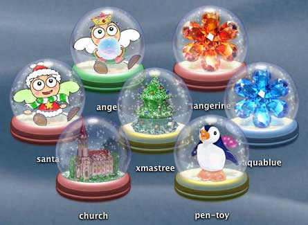 Snowglobes Snowdome 2004 Icons