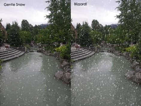 Snowscape Free Photoshop Action