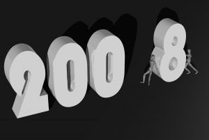 2008 Stock Photo