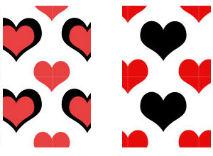 heart patterns for photoshop