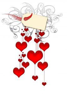 Vector Valentines Hearts