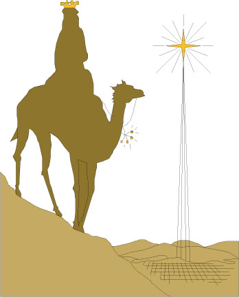 3 Kings Day Vector