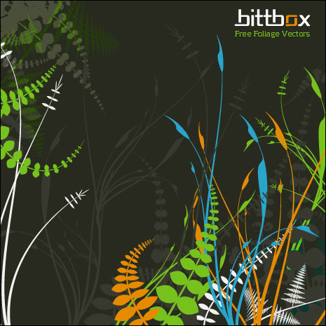 BittBox Foliage Vectors Set One
