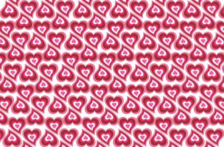 Heart Pattern EPS