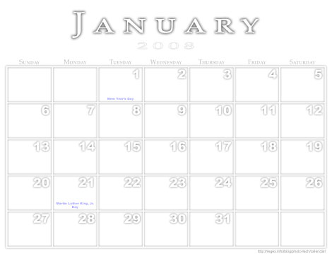 Jeffrey's Photoshop Calendar-Template-Building Script