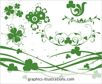 Free St Patrick S Day Photoshop Brushes