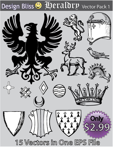 Heraldry Vector Pack 1