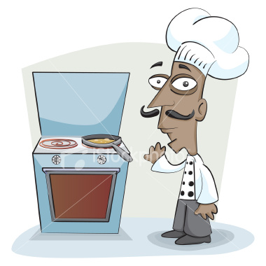 free vector chef or cook