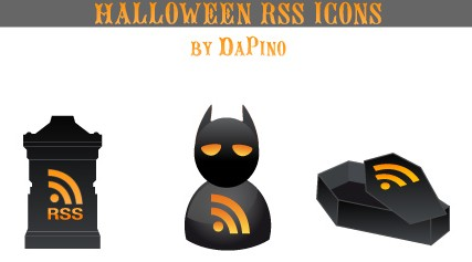 DaPino Vector Halloween Icons Free