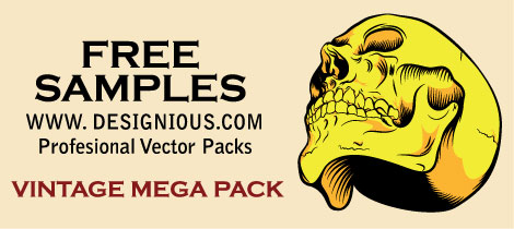 Free Vector Skull