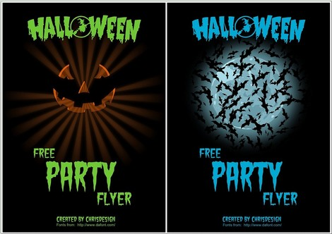 Free Halloween Flyer Designs