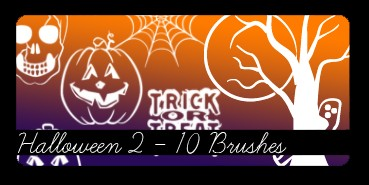 Photoshop brushes for Halloween