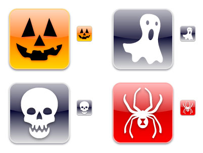 iPhonica Halloween Icons