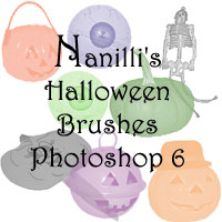 Artistic Ecstasy Halloween Photoshop Brushes
