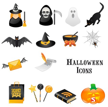 Smashing Magazine Halloween Vector Icons