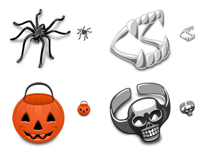 Trick or Treat Free Halloween Icons