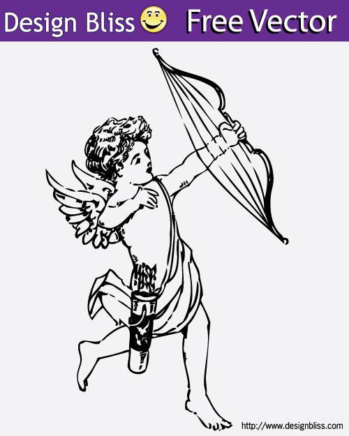 Free Vector Cupid