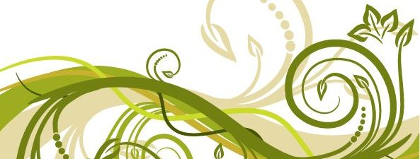 Free Green Floral Vector from